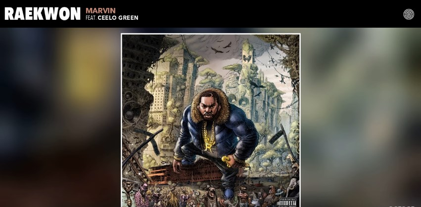 Raekwon – Marvin (Audio) ft. CeeLo Green
